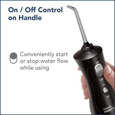Waterpik Ultra Cordless Plus Dental Water Flosser Jet | Teeth Flossing | Black | WP462 Thumbnail 7