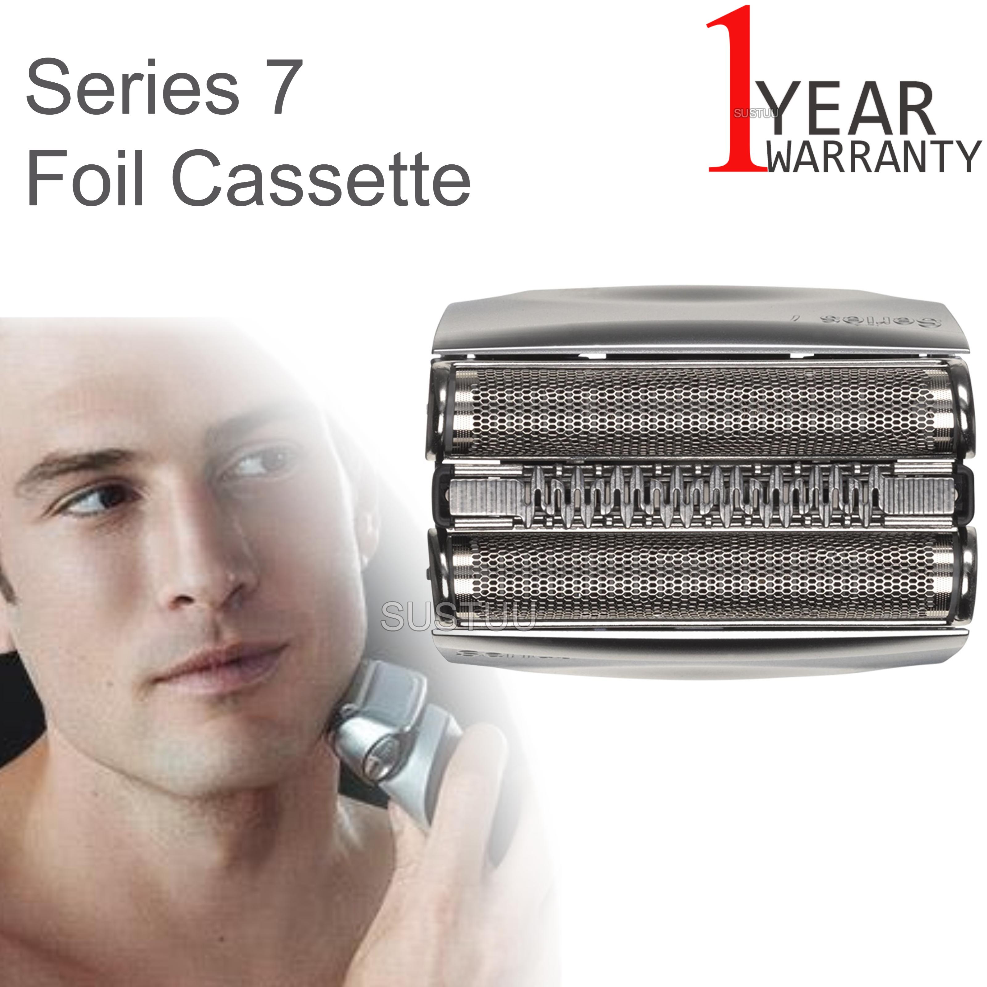 Braun Pulsonic 9000 Series 7 Foil Cassette | Shaver Replacement Head | COM70S | Silver