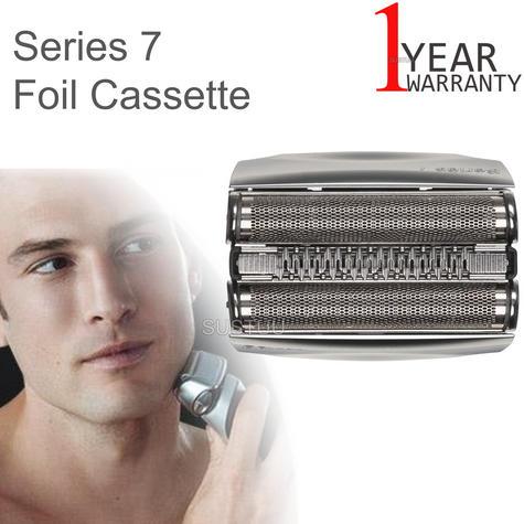 Braun Pulsonic 9000 Series 7 Foil Cassette | Shaver Replacement Head | COM70S | Silver Thumbnail 1