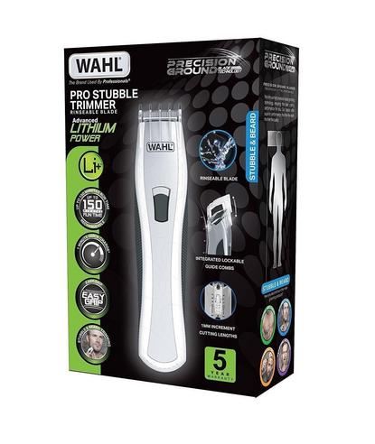 Wahl Men's Lithium Pro Stubble Hair Trimmer|Rinseable Blade|Cordless|85413-809? Thumbnail 4