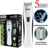 Wahl Men's Lithium Pro Stubble Hair Trimmer|Rinseable Blade|Cordless|85413-809?