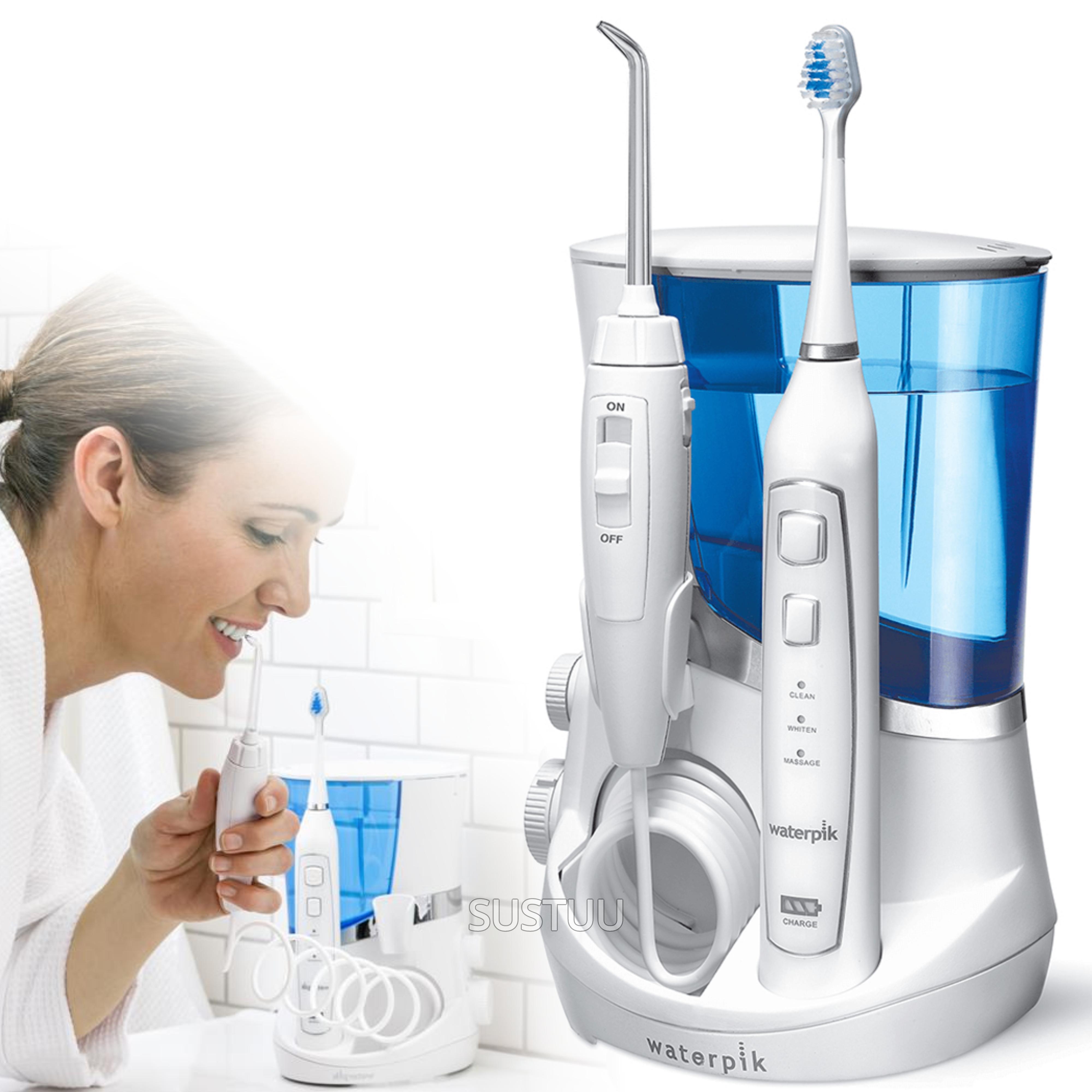 Waterpik Complete Care 5.0 (Combo) | Water Flosser Irrigator + Sonic Toothbrush | WP861