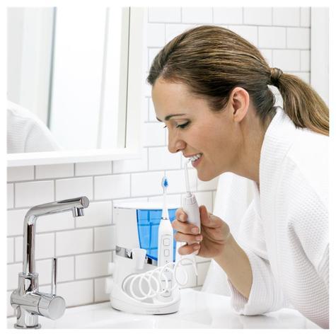 Waterpik Complete Care 5.0 (Combo) | Water Flosser Irrigator + Sonic Toothbrush | WP861 Thumbnail 5