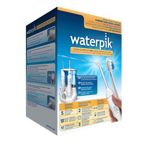 Waterpik Complete Care 5.0 (Combo) | Water Flosser Irrigator + Sonic Toothbrush | WP861 Thumbnail 8
