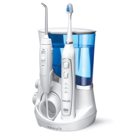 Waterpik Complete Care 5.0 (Combo) | Water Flosser Irrigator + Sonic Toothbrush | WP861 Thumbnail 2