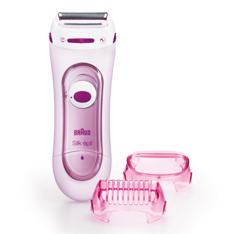 Braun Silk-Epil Lady Shaver - Bikini Treamer | Battery Operated | Legs & Body | LS5100 Thumbnail 2