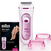 Braun Silk-Epil Lady Shaver - Bikini Treamer | Battery Operated | Legs & Body | LS5100
