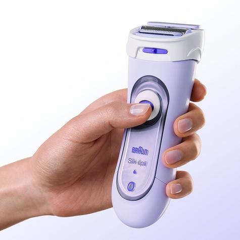 Braun Silk-épil Lady Body Foil Shaver | Cordless Rechargeable | 3 Attachments | LS5560 Thumbnail 5