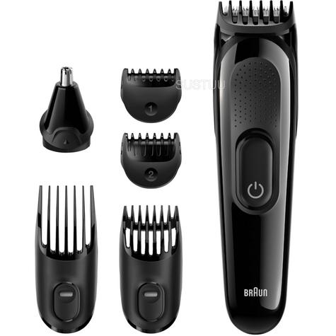 Braun Multi Groom Face & Head Precision Kit | Beard & Hair Trimmer | 6 in 1 | MGK3020 Thumbnail 1