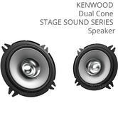 Kenwood KFC-S1356 5.25'' Dual Cone Car Door Coaxial Speaker|Stage Sound|260W|NEW