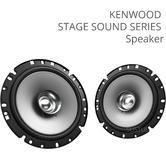Kenwood KFC-S1756 17cm 2-Way Dual Cone Car Door Speaker|Stage Sound Series|300W