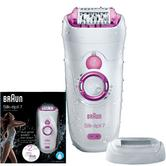 Braun Silk-épil 7 Wet & Dry Watertight Epilator | Women's Legs-Body | 2 Extras | SE7521