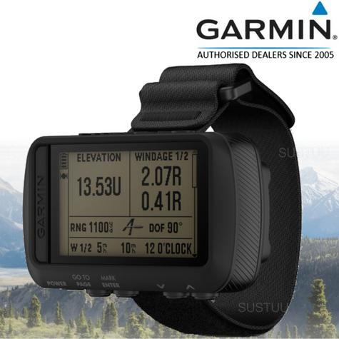 Garmin Foretrex 701 Ballistic|Wrist-mounted GPS SatNav|3axis Compass & Altimeter Thumbnail 1
