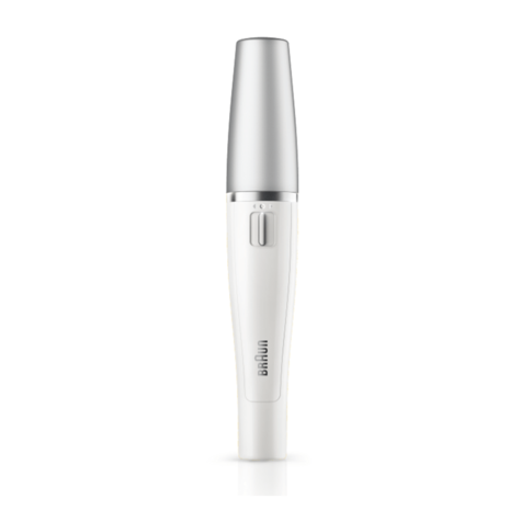 Braun Mini Facial Epilator+Cleansing Brush | Waterproof Electric Hair Removal | 810 Thumbnail 6