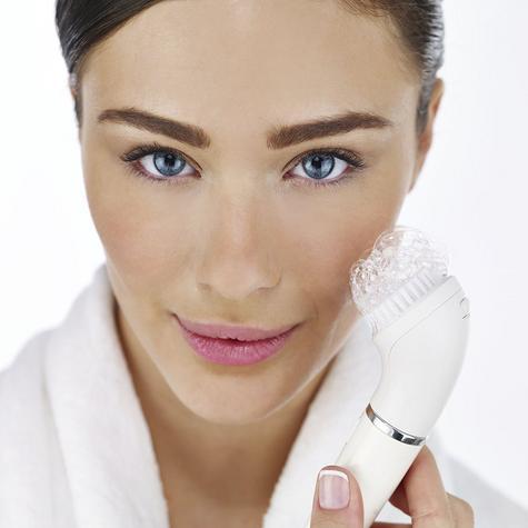 Braun Mini Facial Epilator+Cleansing Brush | Waterproof Electric Hair Removal | 810 Thumbnail 7