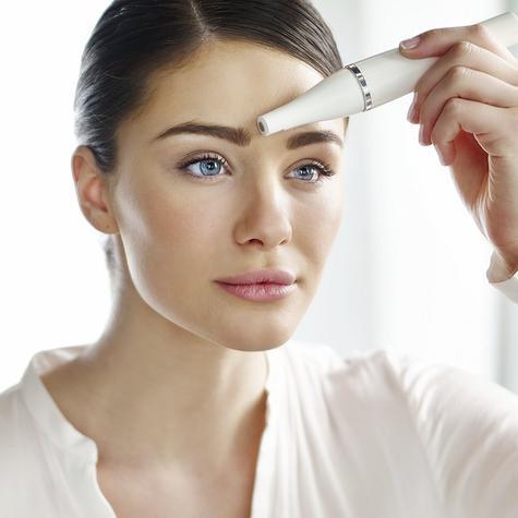 Braun Mini Facial Epilator+Cleansing Brush | Waterproof Electric Hair Removal | 810 Thumbnail 8