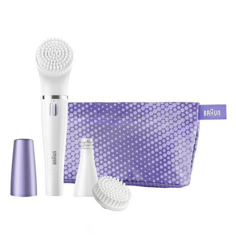 Braun FaceSpa Mini Facial Epilator & Cleansing Brush | Removes Finest Hair | SE832 Thumbnail 3