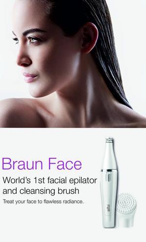 Braun FaceSpa Mini Facial Epilator & Cleansing Brush | Removes Finest Hair | SE832 Thumbnail 7