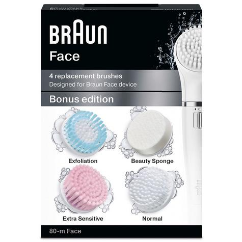 Braun Silk Epil Multi Pack Refills | 4 Replacement Brushes | All Face Devices | SE80M Thumbnail 3