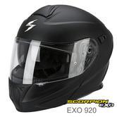 Scorpion Exo 920 Flip Front Motorcycle/Bike Helmet | ECE 22-05 | Matt Black | All Size