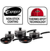 Tefal 5 Piece Essential Cookware Set | Thermospot Technology | Non Stick Coating | NEW