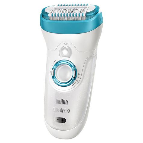 Braun Silk-Epil 9 Women's Cordless Epilator|Facial Hair Remover|Wet & Dry Use| Thumbnail 5