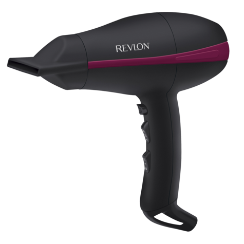 Revlon Tempest Professional Power Hair Dryer+Diffuser | 2000W AC Motor | Black | DR5821 Thumbnail 2