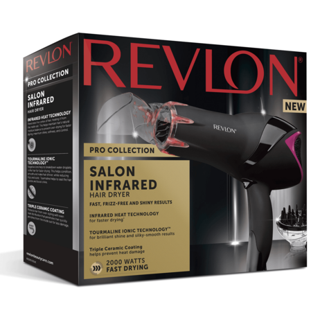 Revlon Pro Collection Salon Infrared Hair Dryer | Volumizing Diffuser | 2000W | DR5105 Thumbnail 7