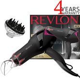 Revlon Pro Collection Salon Infrared Hair Dryer | Volumizing Diffuser | 2000W | DR5105