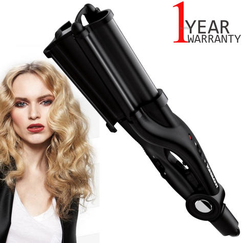 Toni & Guy Salon Professional Hair Waver | 32mm Ultra Deep Barrel | 200C-Black | IR1928 Thumbnail 1