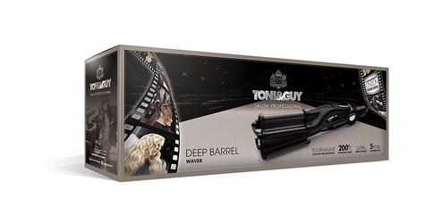 Toni & Guy Salon Professional Hair Waver | 32mm Ultra Deep Barrel | 200C-Black | IR1928 Thumbnail 5