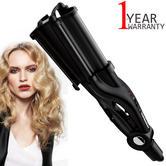 Toni & Guy Salon Professional Hair Waver | 32mm Ultra Deep Barrel | 200C-Black | IR1928