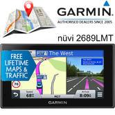 Garmin Nuvi 2689LMT 6'' GPS SatNav | Free UK EUROPE lifetime Map & Traffic Updates