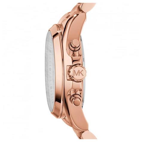 Michael Kors Bradshaw Ladies Watch|Chronograph Dial|Rose Gold Bracelet|MK5503 Thumbnail 2