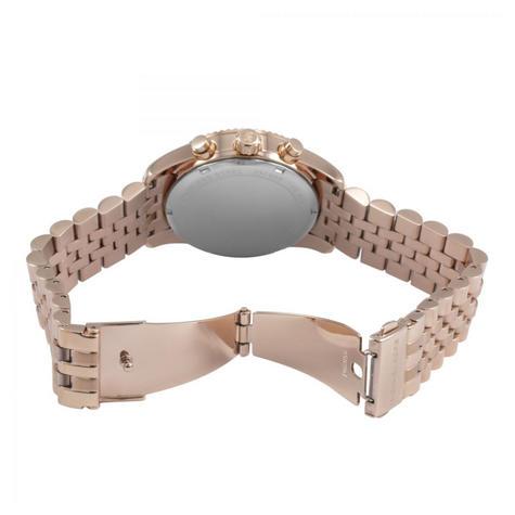Michael Kors Lexington Ladies Watch|Chrono Dial|Rose Gold Designer Strap|MK5569 Thumbnail 4