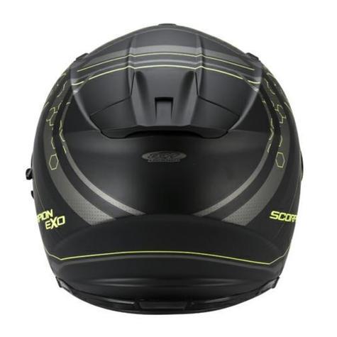 Scorpion Exo 510 Black & Yellow Bike Helmet Full Face Air Sync TUV Tested Unisex Thumbnail 5
