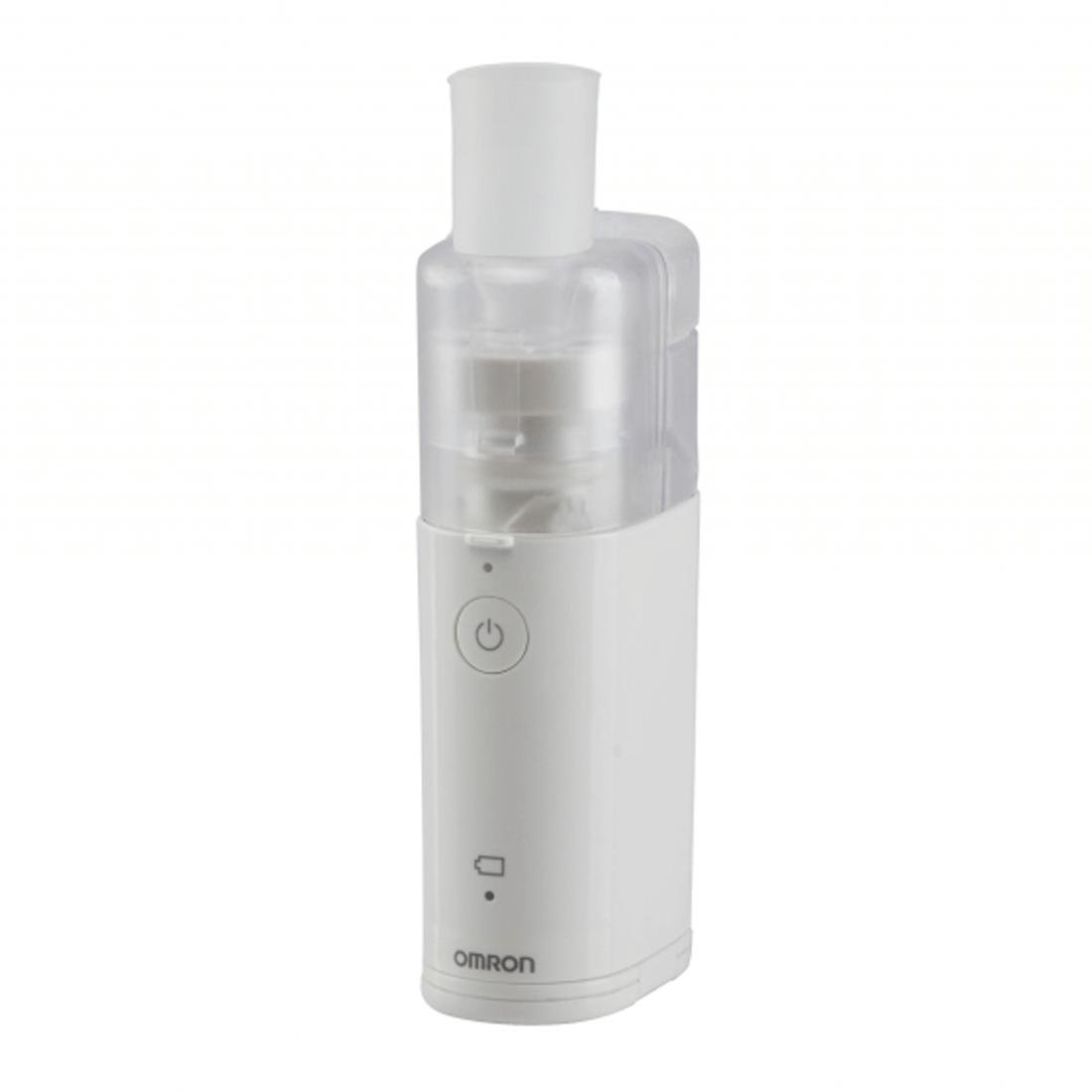 Omron MicroAIR Pocket 360° Nebulizer | Silent Medicine Inhaler | 10ml Medication | U100