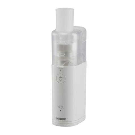 Omron MicroAIR Pocket 360° Nebulizer | Silent Medicine Inhaler | 10ml Medication | U100 Thumbnail 1