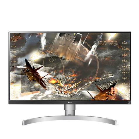 "LG 27UK650-W 27"" Ultra HD 4K Adjustable IPS Computer Monitor Screen - White Thumbnail 2"