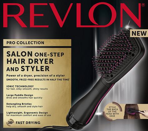 Revlon Pro Collection One Step Hair Dryer & Styler 2 in 1 | Ionic Technology | DR5212 Thumbnail 6