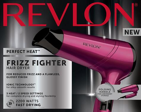 Revlon Perfect Heat Frizz Fighter Hair Dryer | Smooth Styler | 2200 Watt | Purple | DR5229 Thumbnail 7