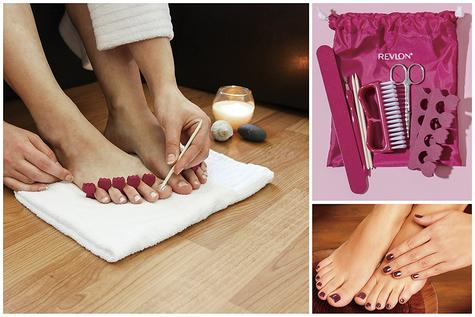 Revlon Pediprep Foot Spa | 9 Pieces Nail Care Pedicure Set | Bubbling Massage | FB7021 Thumbnail 6