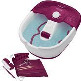 Revlon Pediprep Foot Spa | 9 Pieces Nail Care Pedicure Set | Bubbling Massage | FB7021