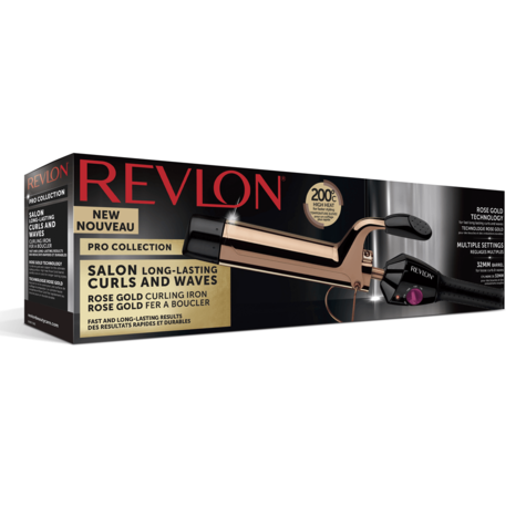 Revlon Pro Collection Curling Iron | Salon Curls & Waves Styler | 32mm Barrel | IR1159 Thumbnail 6