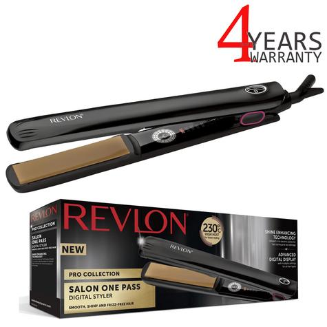 Revlon Pro Collection One Pass Hair Styler/Straightener | LCD Digital Display | ST2167 Thumbnail 1