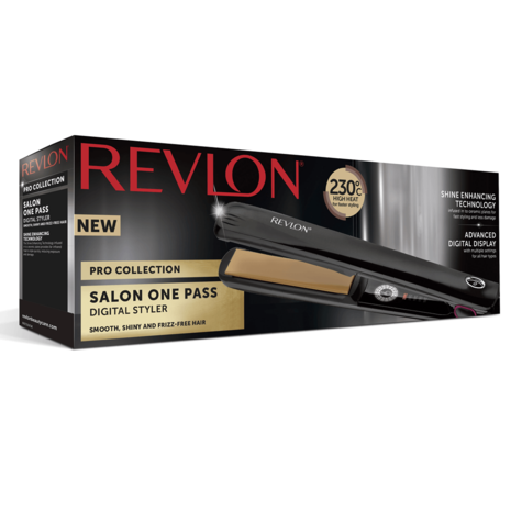 Revlon Pro Collection One Pass Hair Styler/Straightener | LCD Digital Display | ST2167 Thumbnail 6