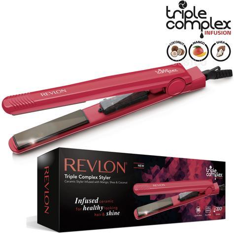 Revlon Wild Watermelon Hair Styler Straightner   Triple Complex Infusion   ST2415WW Thumbnail 1