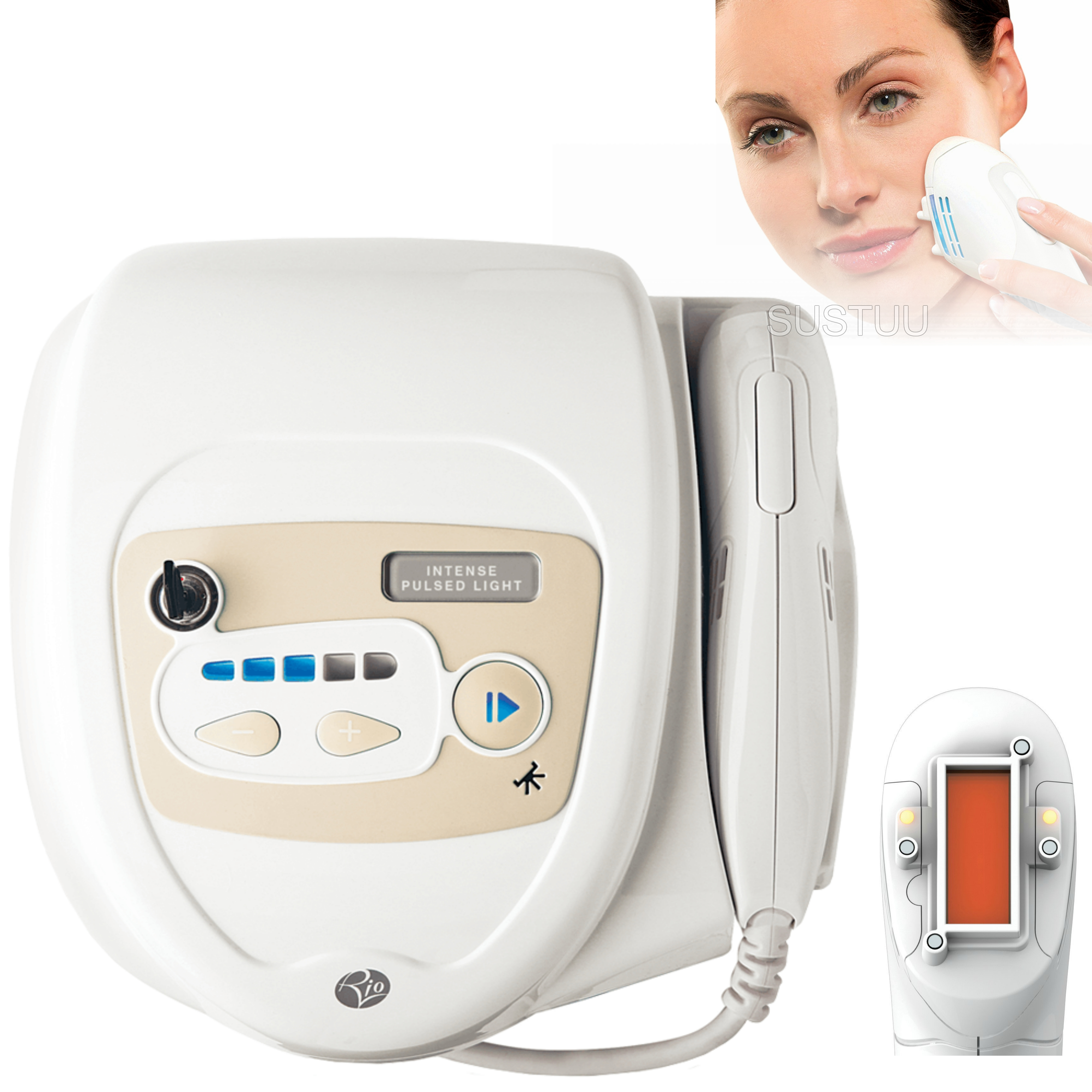 Rio IPL8000 Hair Removal System | Permanent Hair Reduction | 150,000 Flashes | RIOIPHR