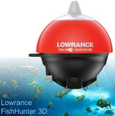 Lowrance FishHunter 3D Wireless FishFinder Transducer|Castable Sonar|200 ft WiFi Range