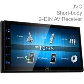 JVC Double Din Car Stereo|6.8'' Touch Screen|Mp3/USB/Bluetooth/iPod/iPhone Music